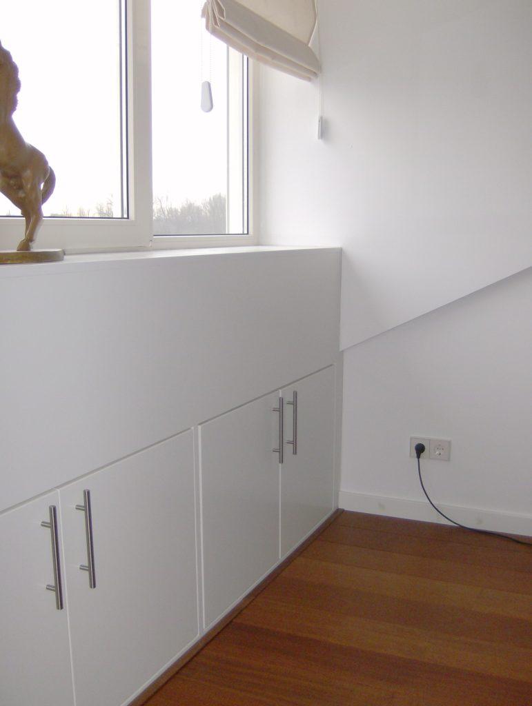 Vensterbanken radiatorschermen - Op maat gemaakte bibliotheek ...